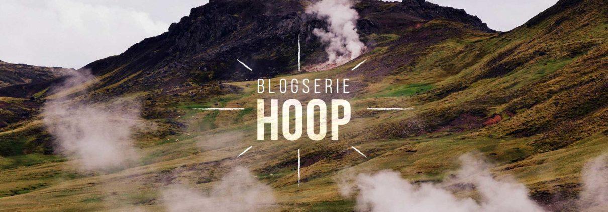 Blog serie over hoop - IJsland geiser